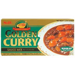 Golden Curry (Slightly Hot)